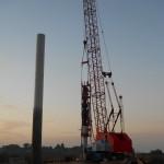 2011-10-14 002 driving pile 1 pier 3