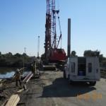 2011-10-22 014 Driving pile 2 pier 5